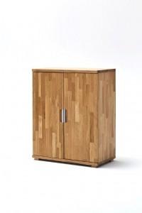 CENT drewniana szafa biurowa niska