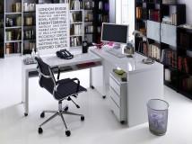 Ruchome biurko na kółkach MIKE XL