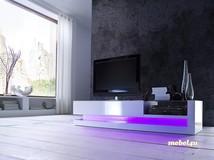 Szafka rtv TWIN z oświetleniem zmiennym
