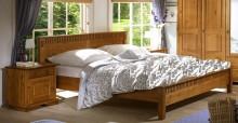 Łóżko VALENCIA miodowe