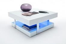 Stolik kawowy ELOS lakierowany + LED