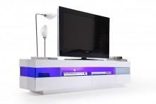Szafka RTV VENTO z oświetleniem zmiennym