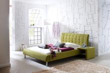 Łóżko HOBS / zielony