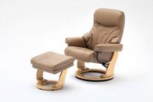 Fotel telewizyjny skórzany ORTEL