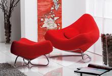 Fotel CHILLI Ravello czerwony fotel