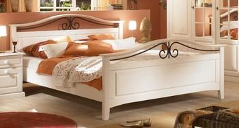 Łóżko SAN REMO - białe
