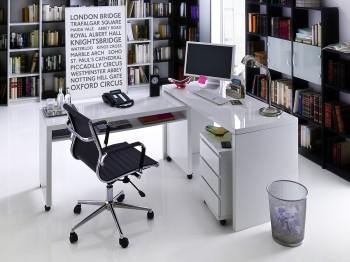 MIKE XL - ruchome biurko na kółkach