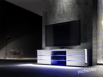 Szafka rtv VIENNA z oświetleniem zmiennym