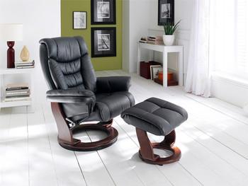 Fotel telewizyjny TOLEDO skóra