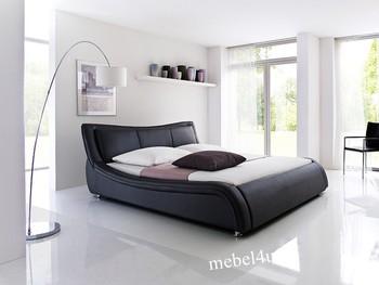 Łóżko SOTO czarne