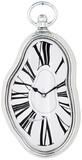 Kare Design Wall Clock Flow Silver