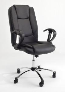 Fotel biurowy LEON czarny