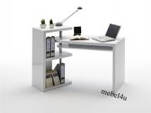 Ruchome biurko MATI -  białe