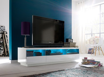 Szafka RTV LISA z oświetleniem LED