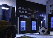 Komoda / kredens GLOW z opcją oświetlenia LED