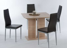 Stół rozkładany OLGA  90-130 cm,  dąb sonoma