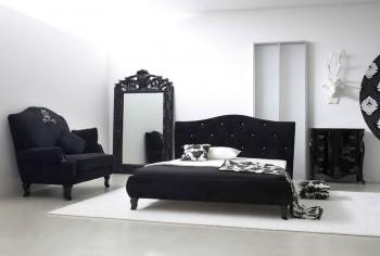 Łóżko MILAN z kryształkami - kilka kolorów