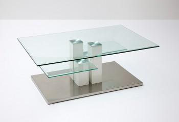 Szklany stolik kawowy MALMO