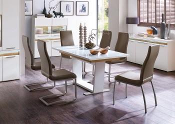 Stół rozkładany POLLINA 160-210 cm
