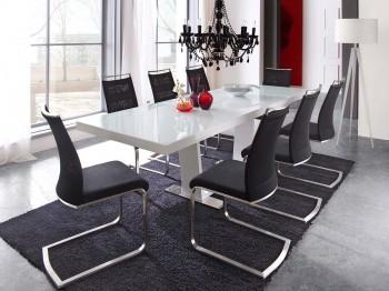 Stół rozkładany MILDRED + krzesła ELENA II