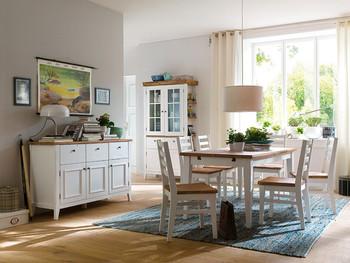 Stół rozkładany 140-180 cm PROVENCE akacja
